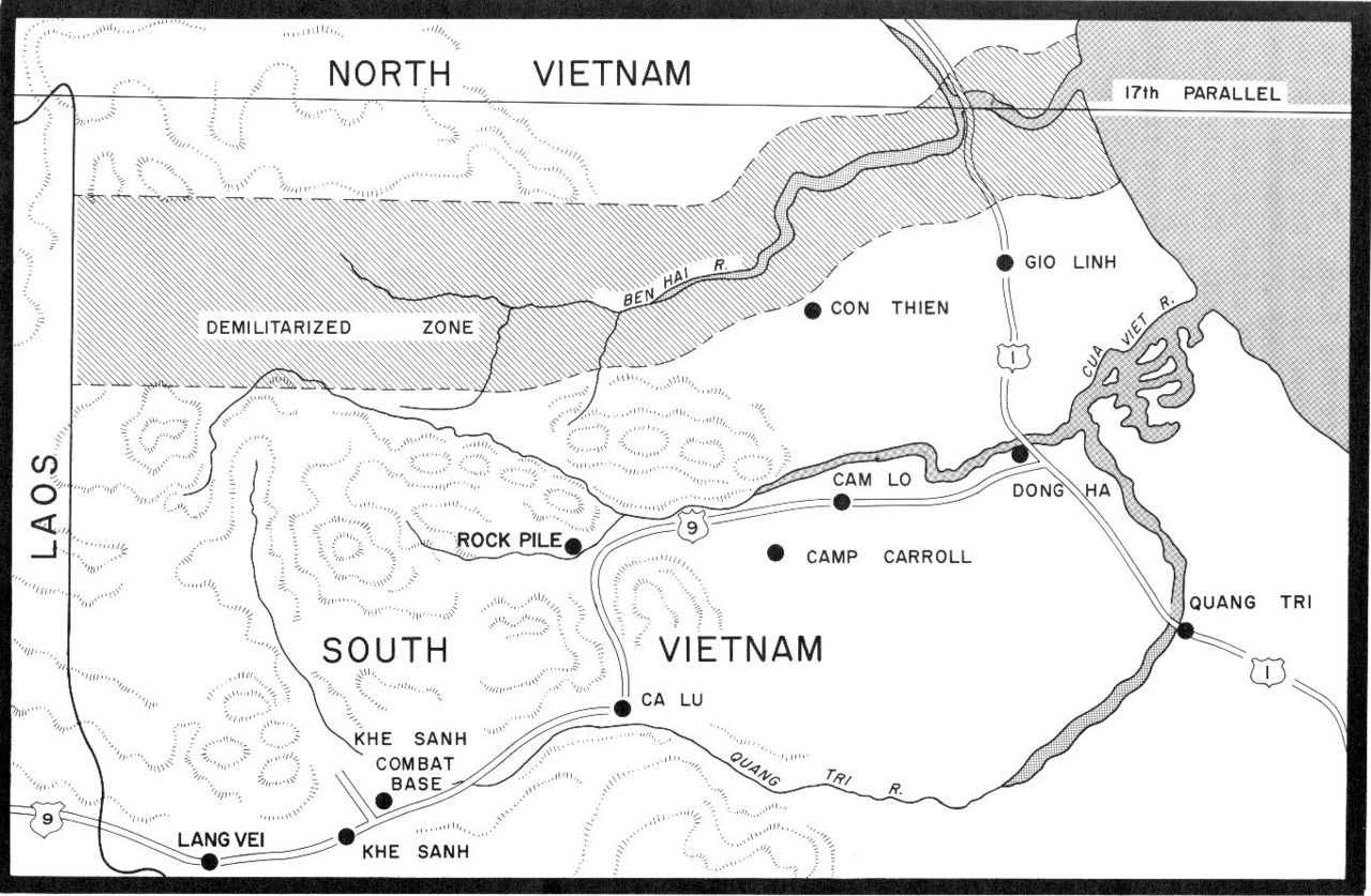 Demilitarized Zone in the Quang Tri Province