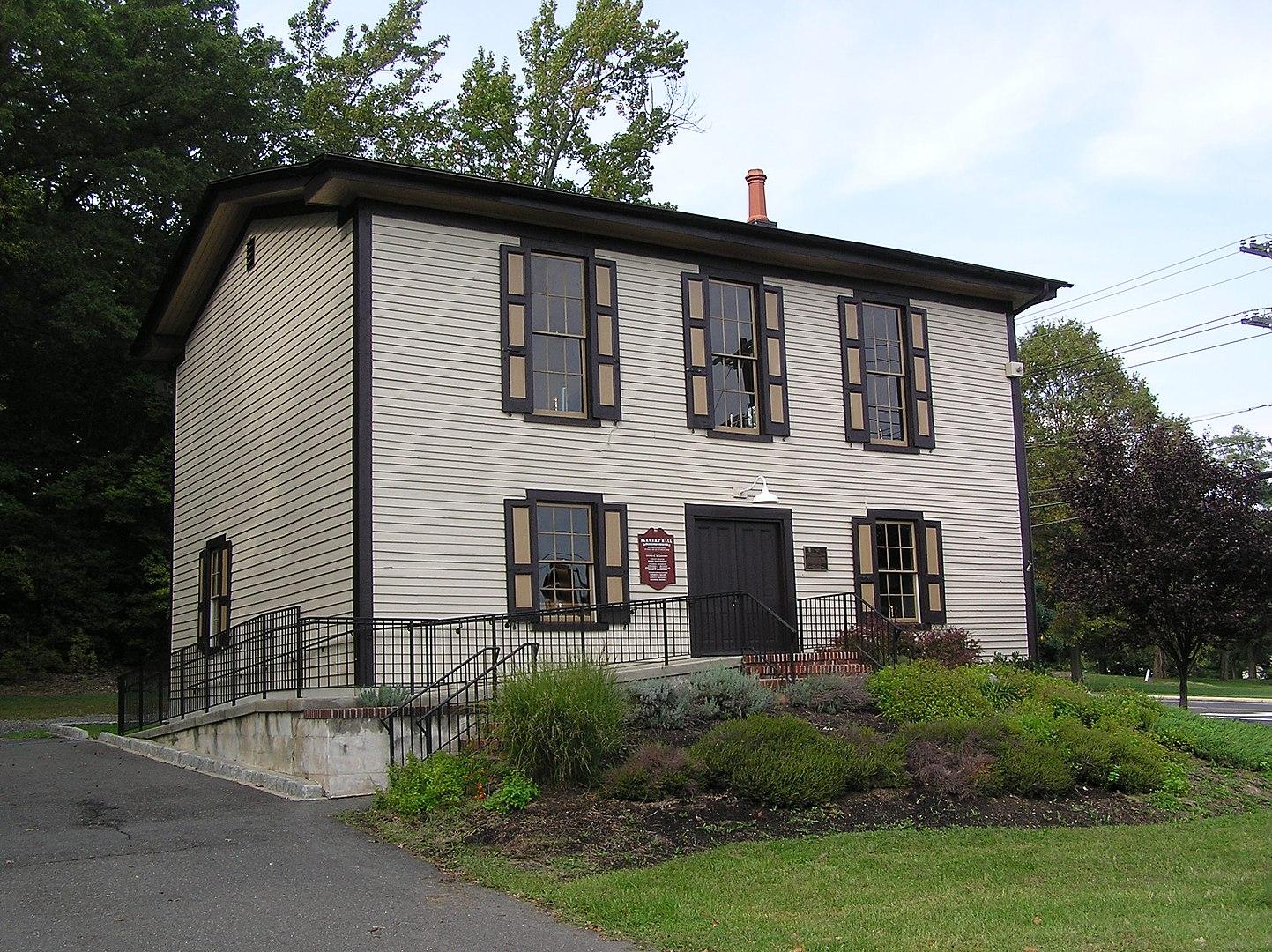 2012 photo of Farmer's Hall