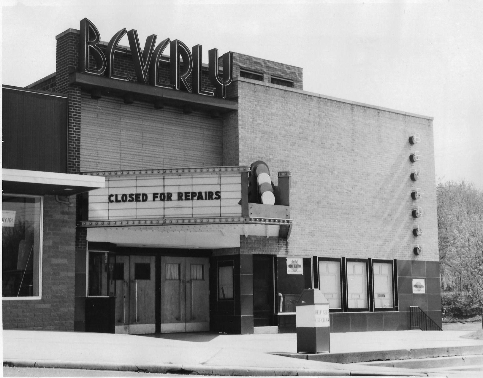 The Beverly Theater, pictured in 1963
