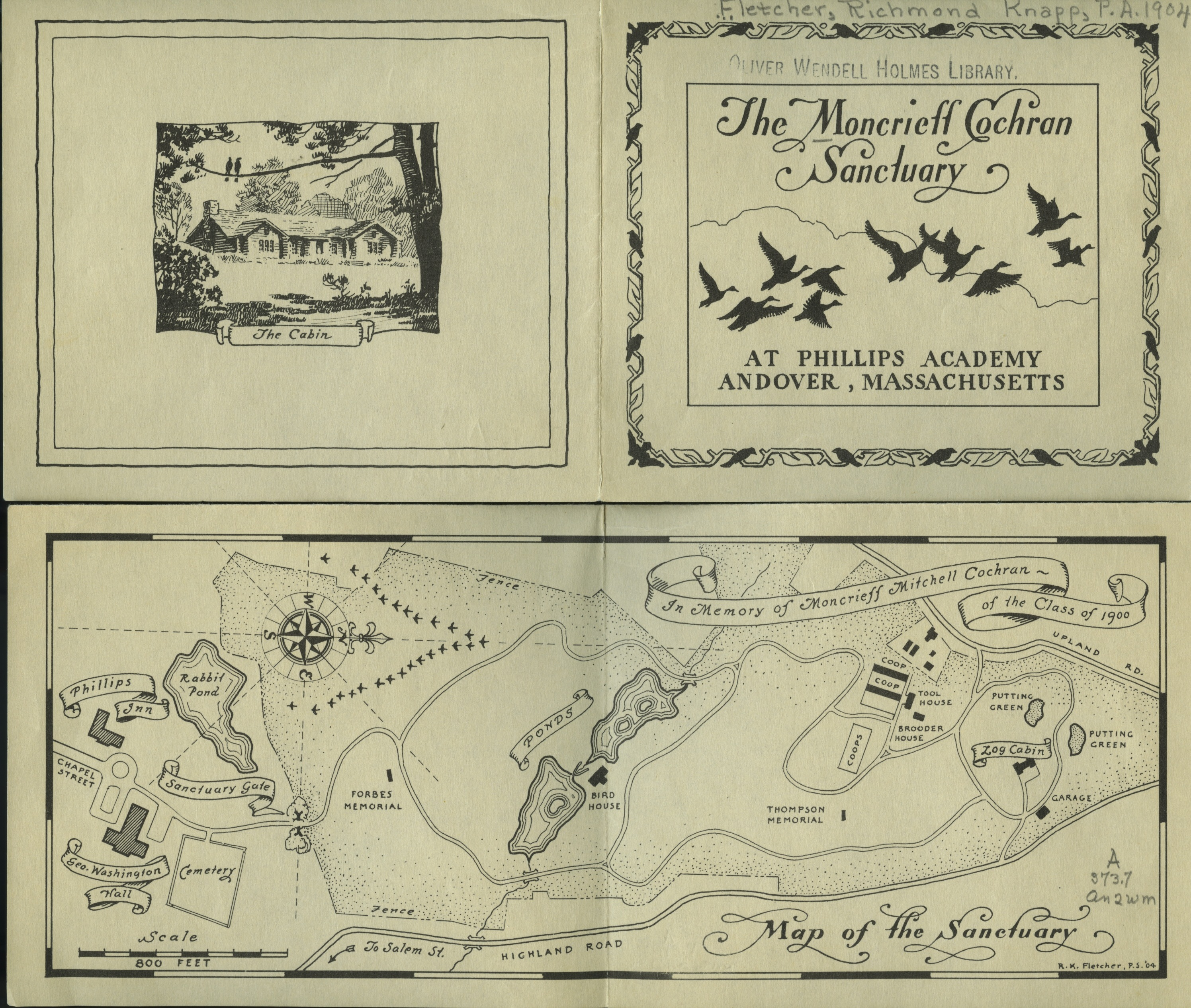 Moncrieff Cochran Sanctuary map