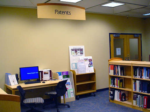 Evansdale Library's Patent and Trademark Resource Center (PTRC)