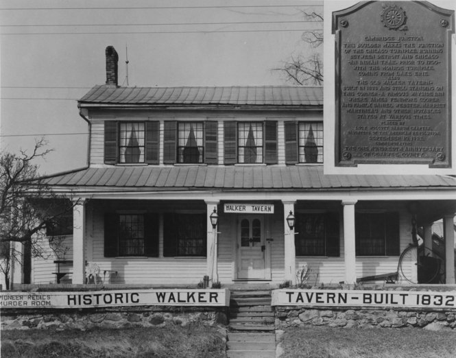 The original Walker Tavern. Credit: File Photo at MLive Media Group