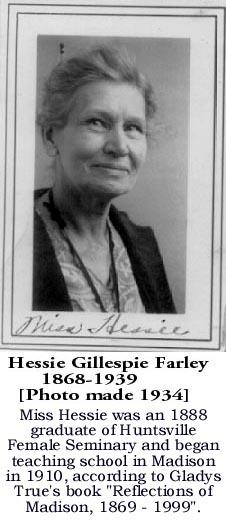 Hessie Gillespie Farley
