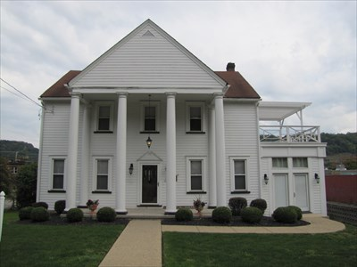 The Dr. George Rigas House. Like most of Weirton's citizens, Rigas was an immigrant from Europe drawn to Weirton by the growing steel industry.