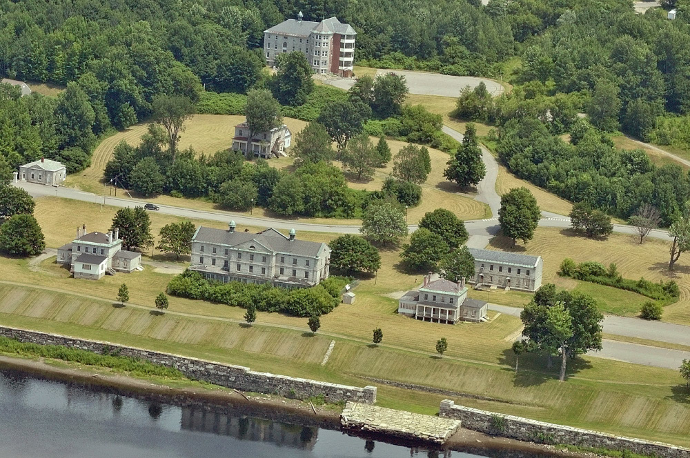 The Kennebec Arsenal. The current owners of the arsenal closed the site due to fears of illegal activity on the property.