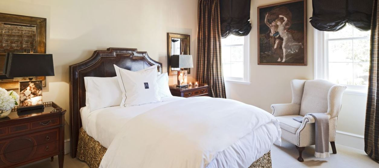 One of the luxury rooms at the Inn.