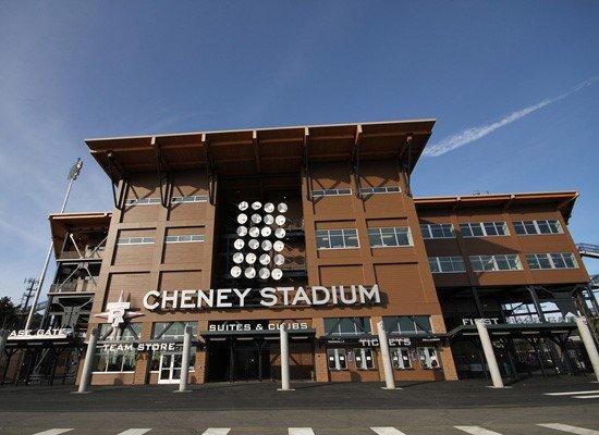 Renovated Cheney Stadium - Photo Courtesy of Mission Glass