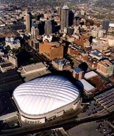 Ariel view of the RCA Dome.