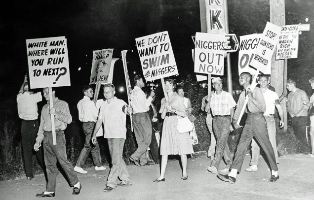 Howard Student activist Dion Diamond counter-protesting desegregation protestors, StoryCorps (reproduced under Fair Use)