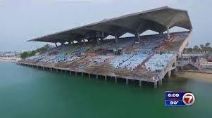 Abandoned Miami Marine Stadium