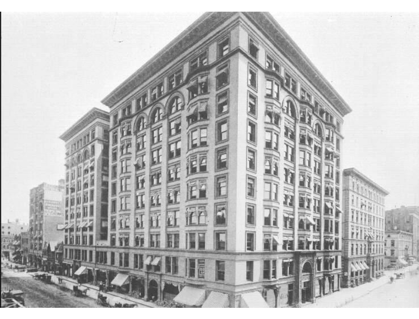 The Spitzer Building circa. 1896
