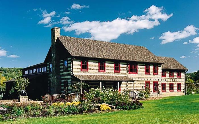 SAMA in Ligonier offers art exhibits as well as beautiful grounds and a sculpture garden.