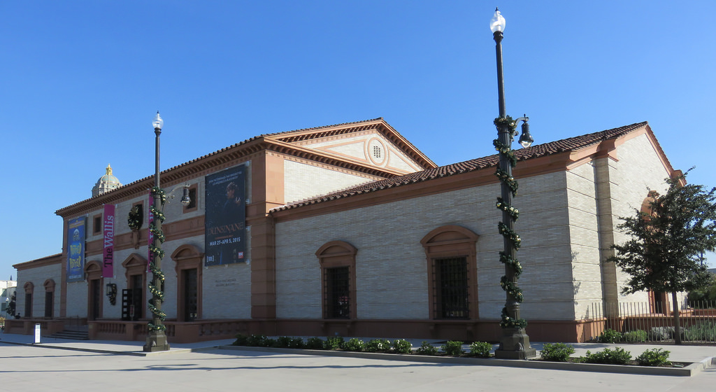 The old Beverly Hills Post Office is now a part of the Wallis Annenberg Center for the Performing Arts
