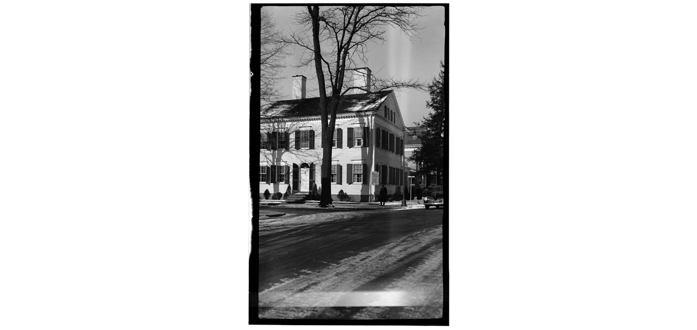 The Fred J. Johnston House in the Mid-20th Century