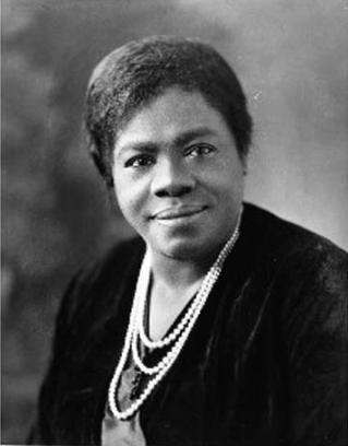 Portrait of Mary M. Bethune
