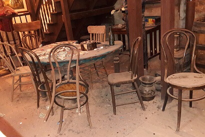 Table where the longest poker game in history was played