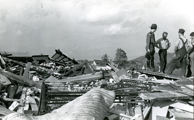 Shinnston tornado damage