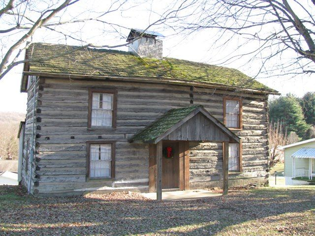 Levi Shinn Cabin. Oldest structure in North Central WV