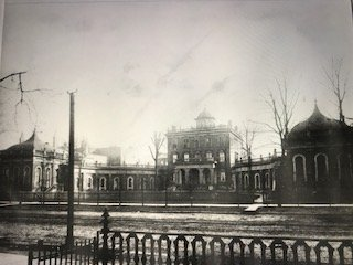 Ursuline students attended this campus on Euclid Avenue near Cleveland's public square from 1871 until their 1892 move eastward to more spacious quarters.