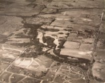 Arial Shot of Fort Omaha (1917)
