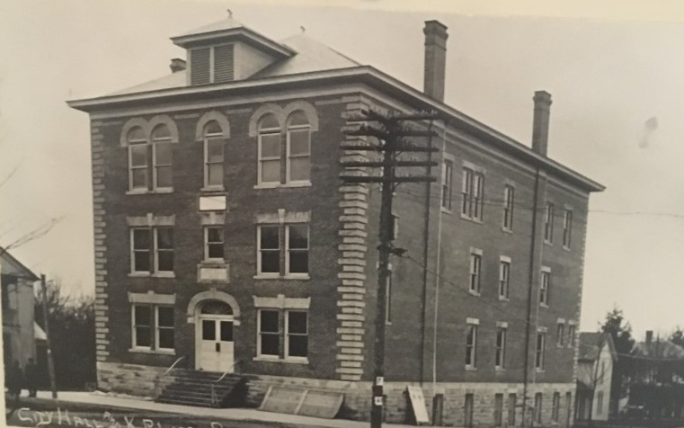 The building was originally constructed in 1905