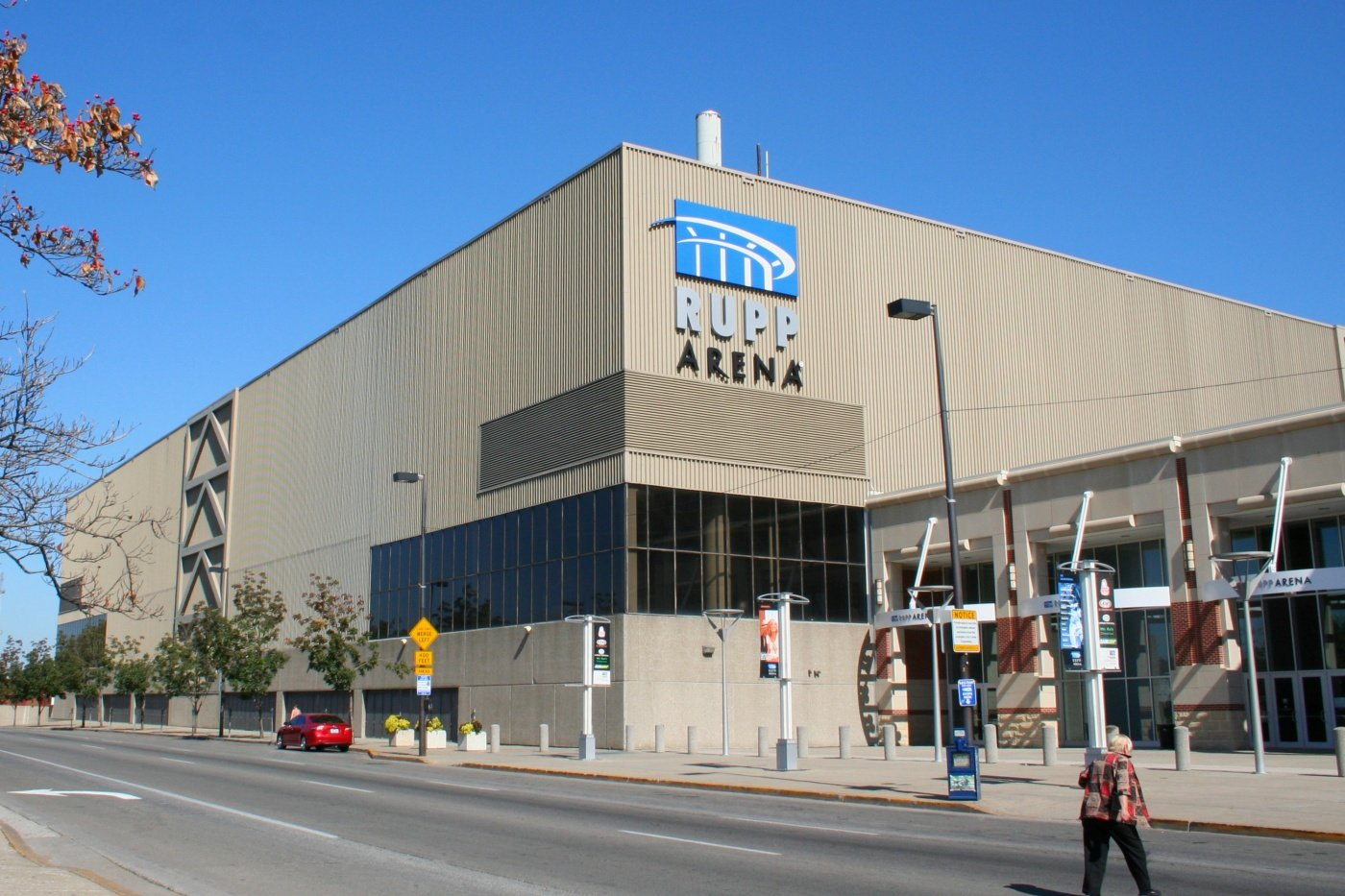 Exterior of Rupp Arena