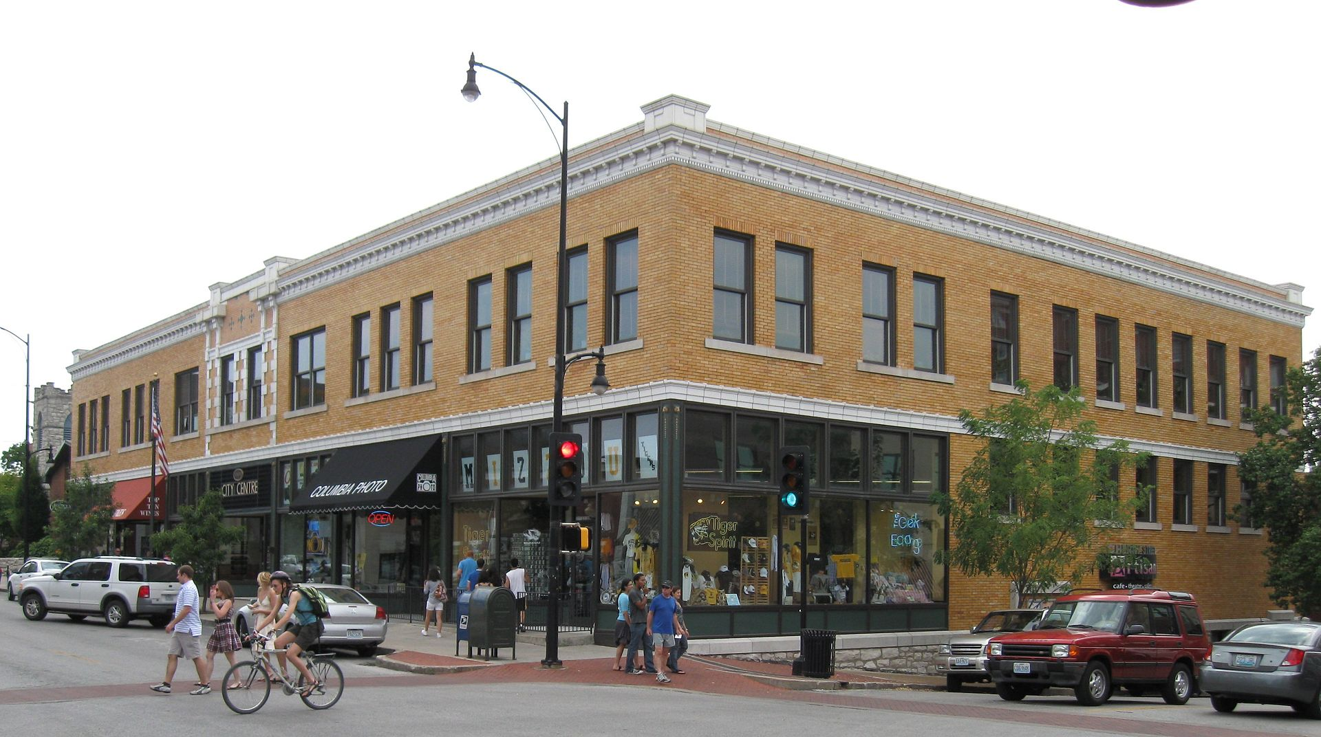 2009 Photo of the historic Virginia Building in Columbia, MO