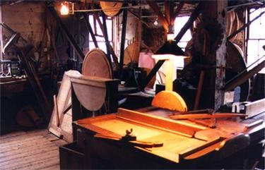Shop floor of the mill today (image from Old Schwamb Mill official website)