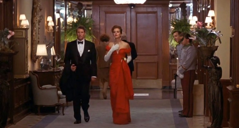 "The movie ""Pretty Woman,"" starring Julia Roberts and Richard Gere, was based in the Beverly Wilshire, but most of the interior shots, such as this one, was filmed at the Ambassador Hotel"