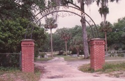 The Entrance of the Cemetery