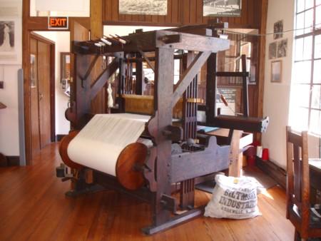 Biltmore Industries loom