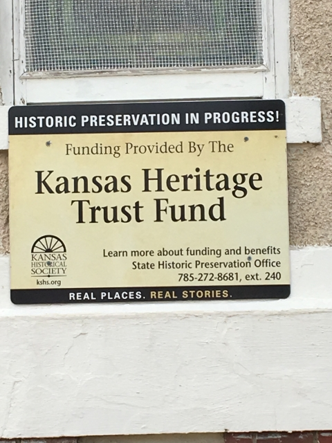 Kansas Heritage Trust Fund Site Temple of Honor Military Museum Nemaha County Historical Society