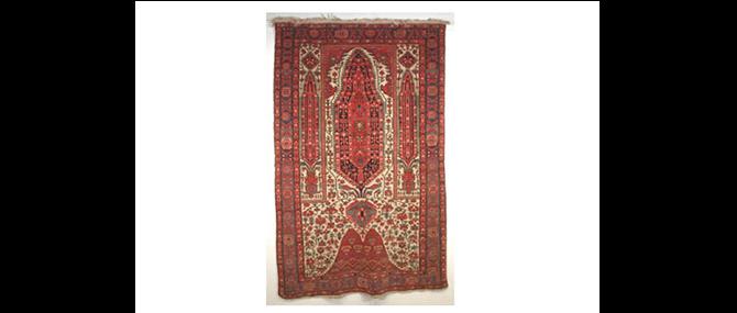 Rug, Western Iran, 19th century.