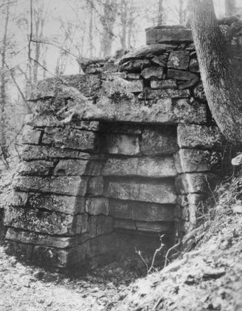 The Hopewell Furnace in the early 1900s