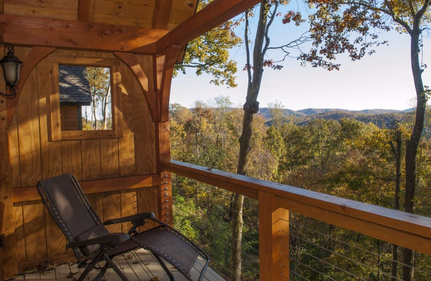 The Inn offers gorgeous views from private balconies.