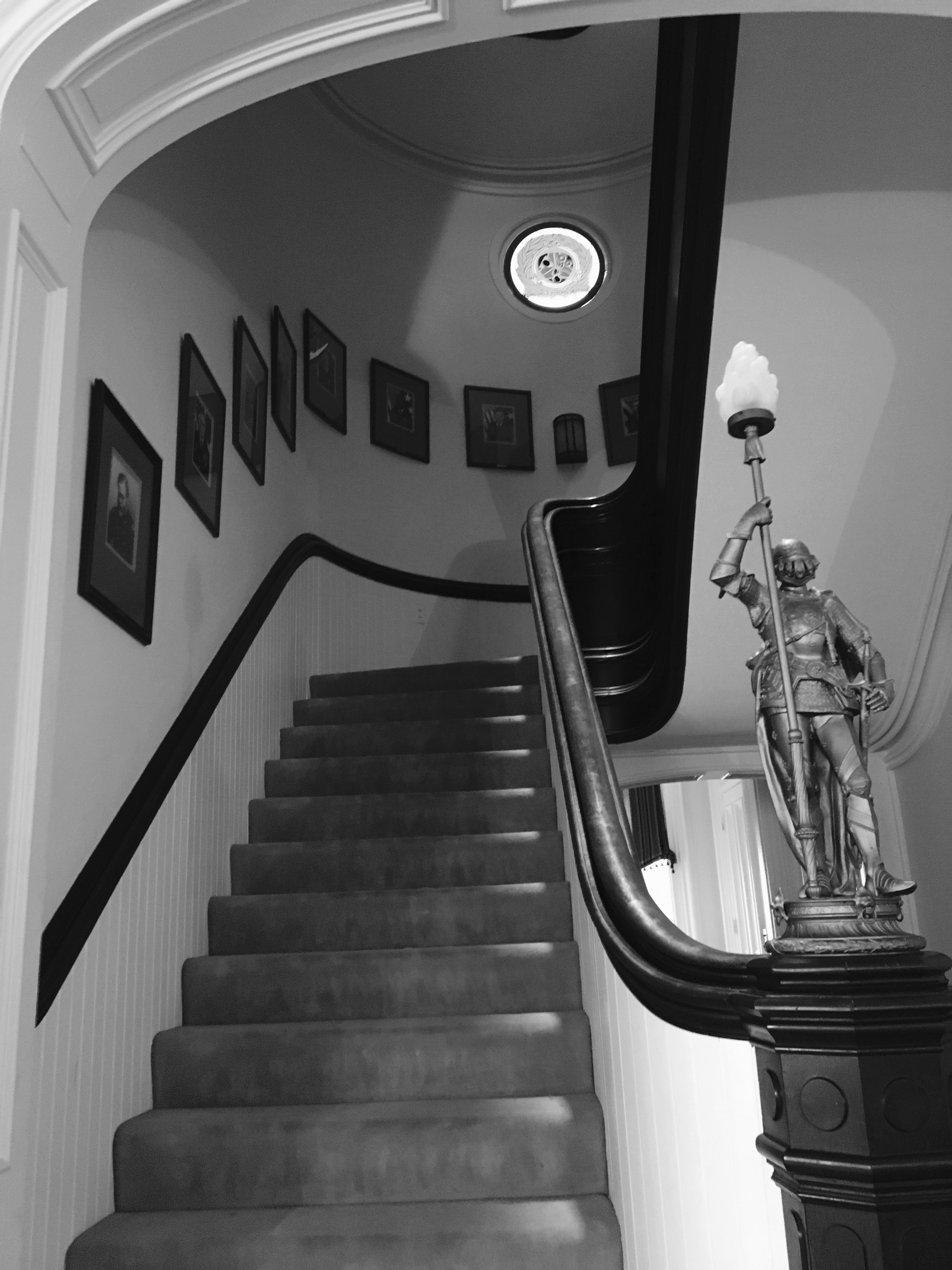 Main Stairwell from First Floor