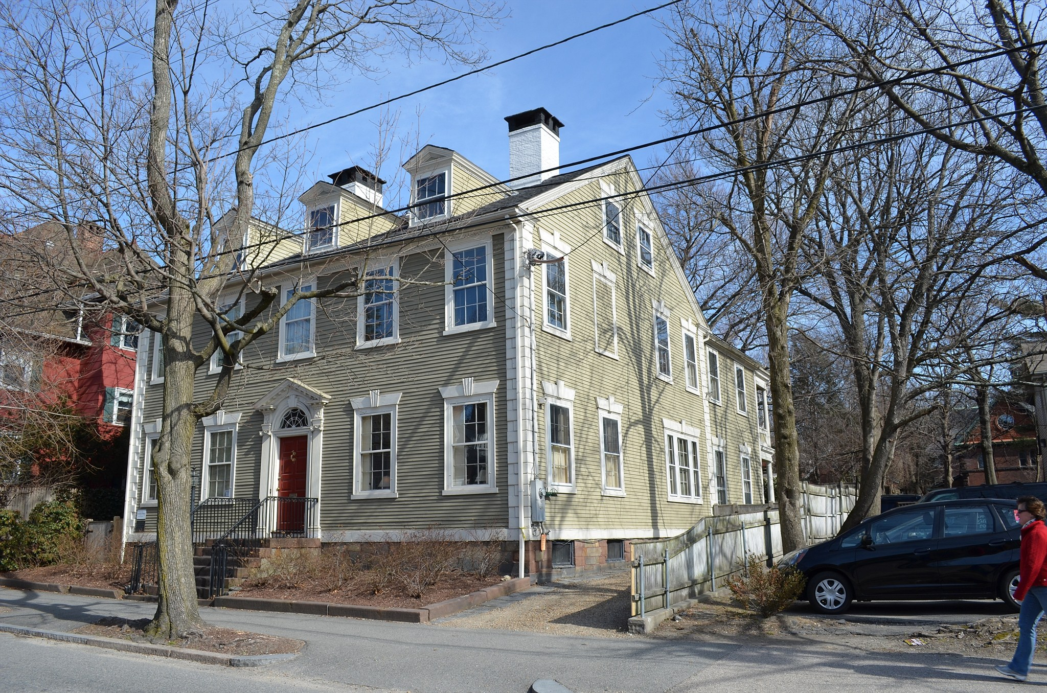 Pearce, Nathaniel, House - Providence RI Image