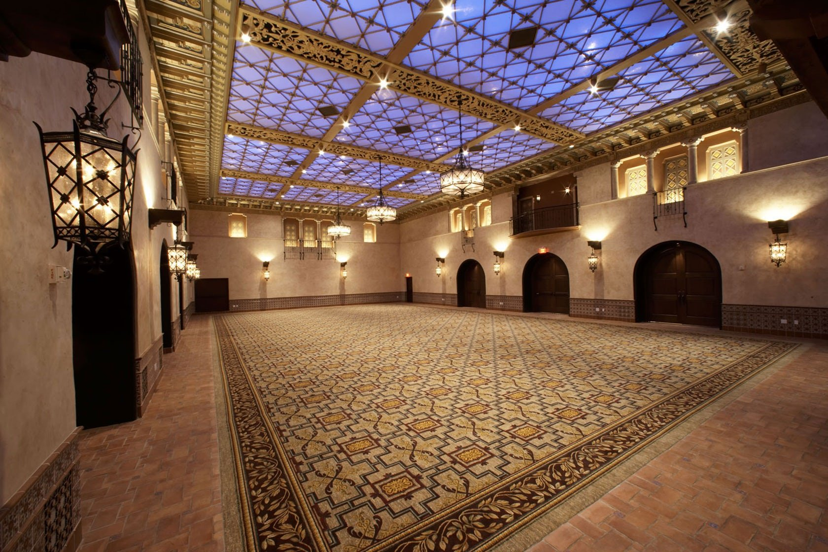 The Blossom Ballroom as it appears in the 2000s after extensive renovation