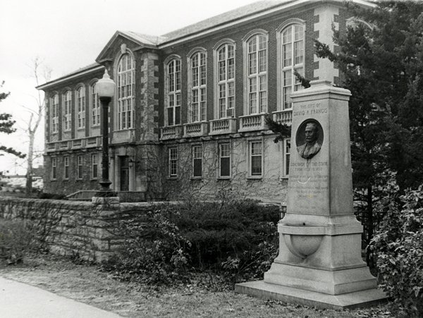 This photo of Tate Hall was taken in the 1980s.