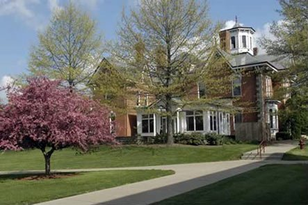 Breezedale has served as IUP's Alumni Center since the early 1990s.