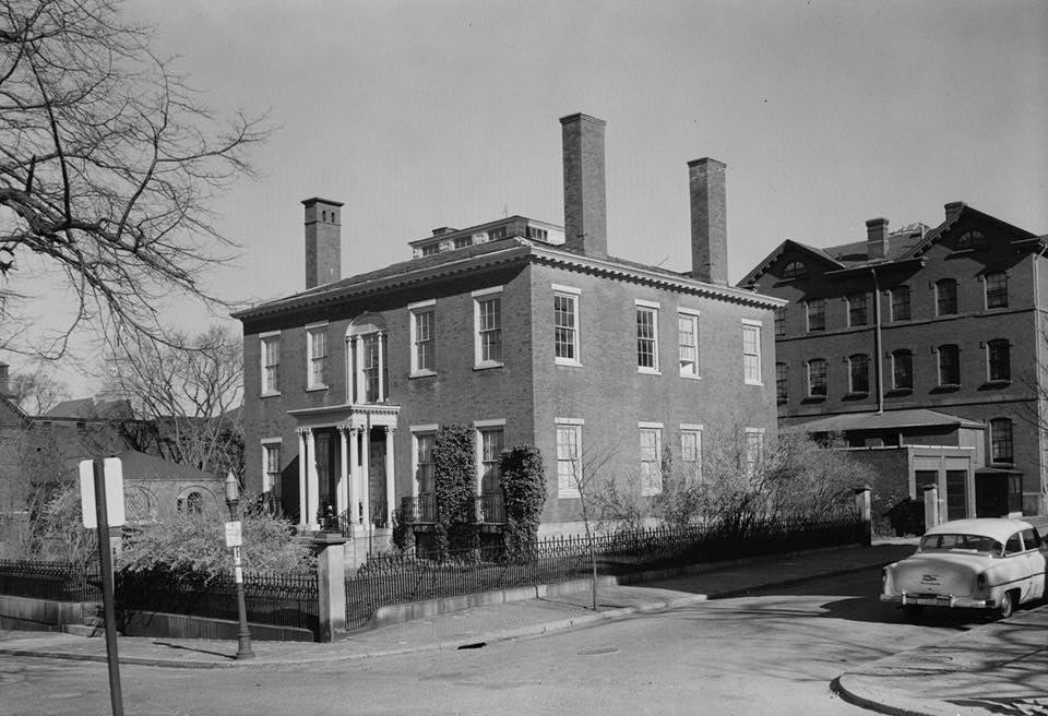 Candace Allen House, 1958.