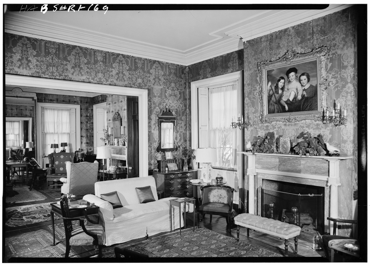 1958, Interior of Candace Allen House