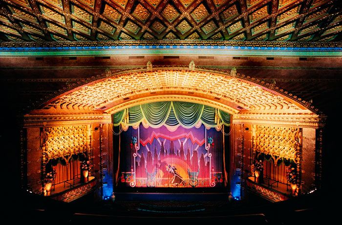 The auditorium in the El Capitan Theatre, now operated by the Walt Disney Company