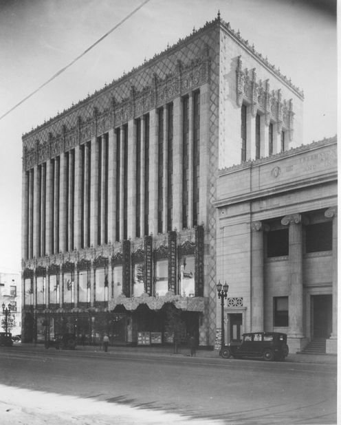 The El Capitan Theatre as it looked when it opened in 1926