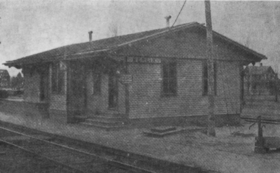 Long-A-Coming Depot/Berlin Railroad Station, circa early 1900s.