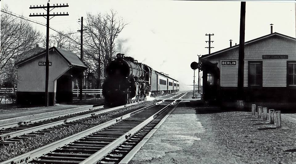 Long-A-Coming Depot/Berlin Railroad Station, circa mid 1900s.