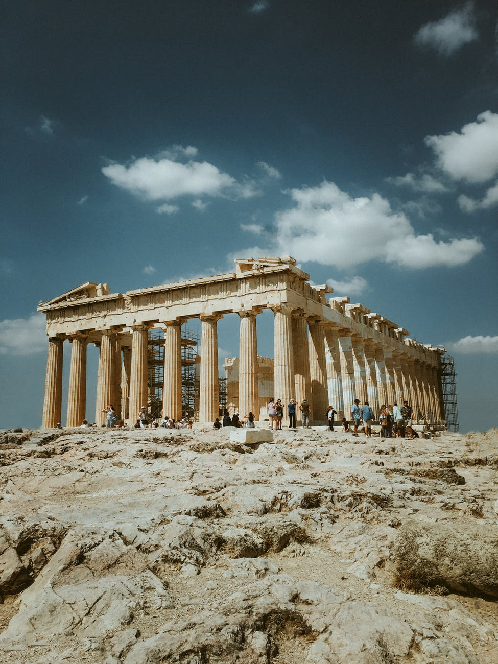 Parthenon from a distance (2019)