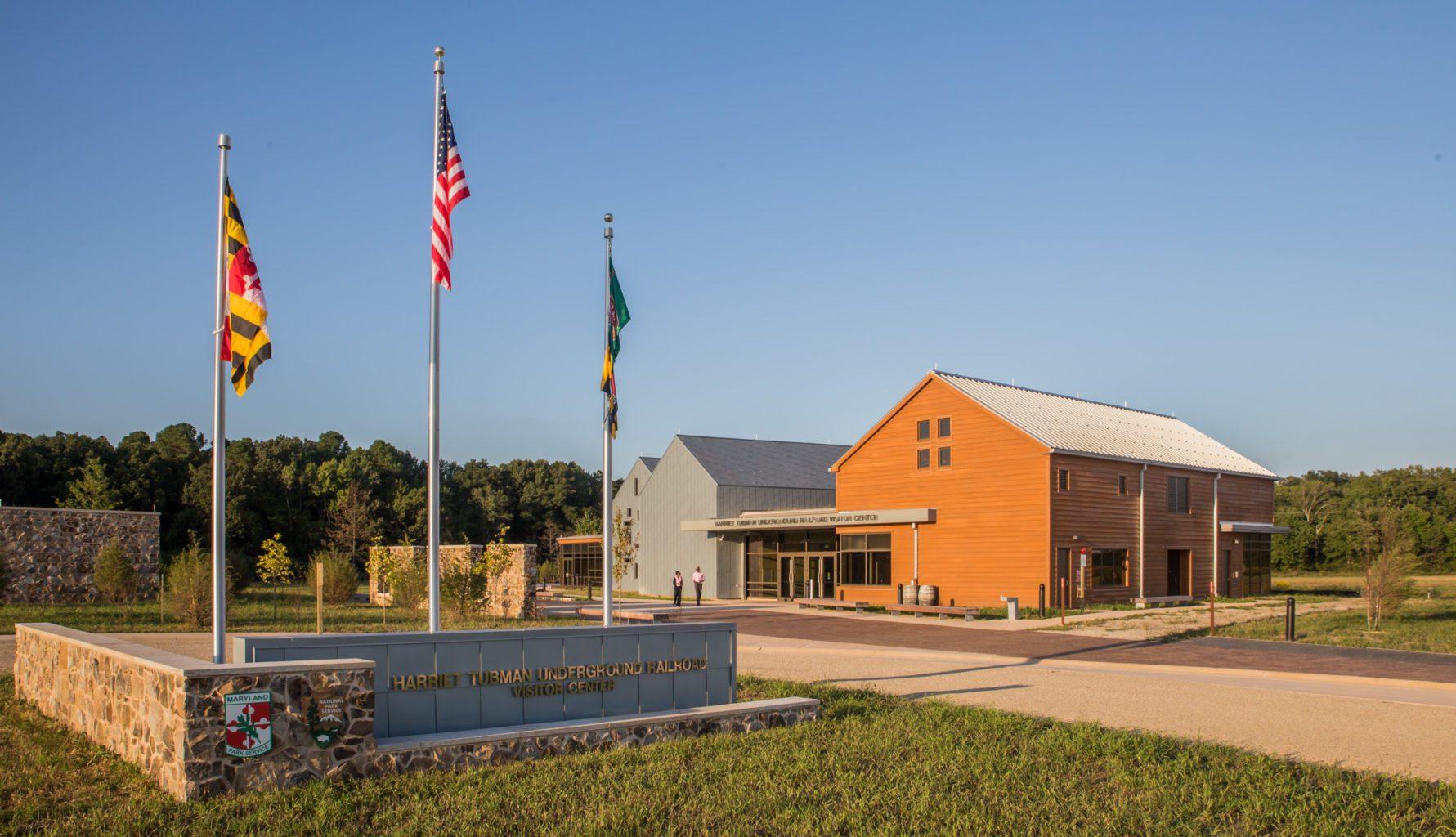 The Harriet Tubman Underground Railroad Visitor Center.