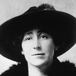 Jeannette Rankin as a young woman.