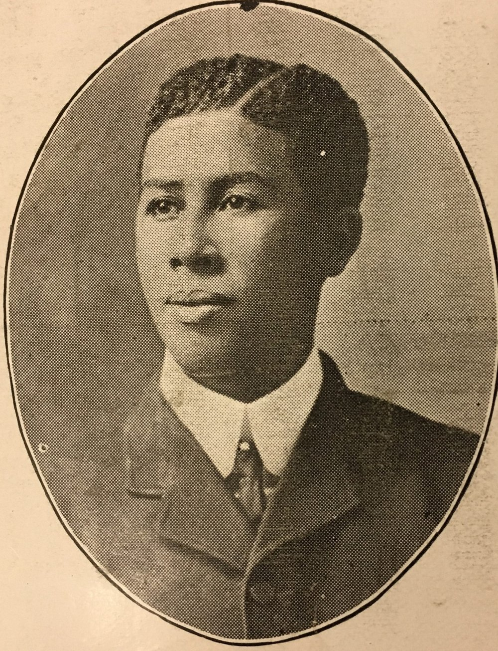 One of only two currently-known teachers at the Ceredo School was Ezra Mullen, who taught around 1915. Image from the 1915 Ceredo-Kenova High School yearbook; courtesy of the Ceredo Historical Society Museum.